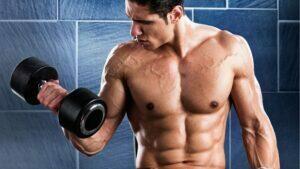 ejercicios con mancuernas en casa para adelgazar